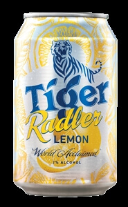 Tiger Radler Lemon Can