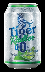 Tiger Radler Lime Mint Can