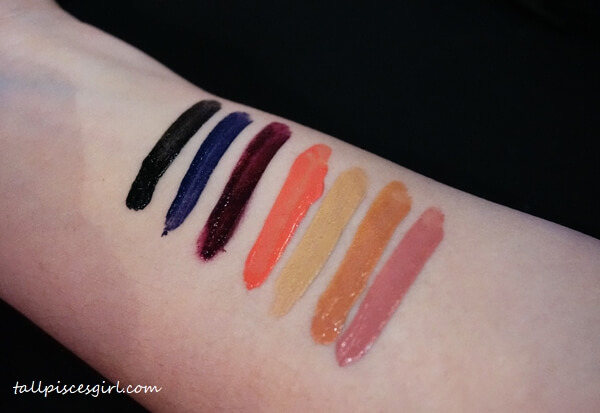 Stay Matte Liquid Lip Swatches