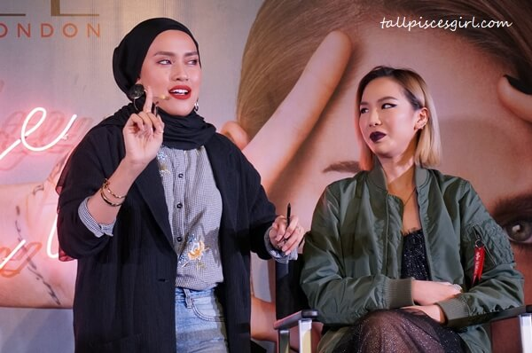 DJ Ashley Lau X Noriana for Rimmel London: Spotlight Grunge