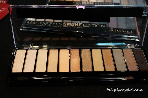 Rimmel London Magnif'eyes Eyeshadow Palette (002 - Blush)