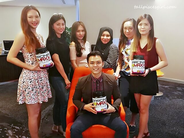 Bloggers with Jason Teo and Garcinia Max Diet Supplement