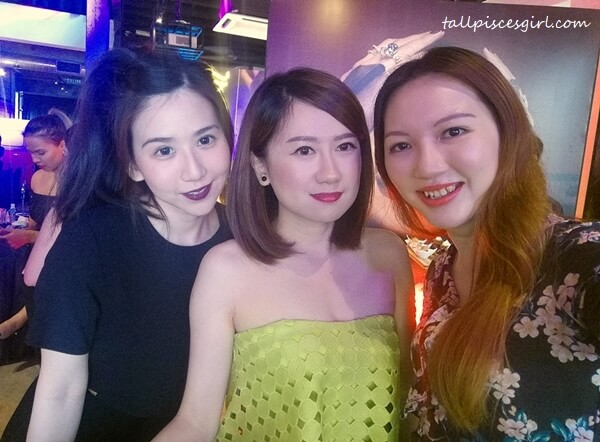 Yours truly with Bella Leong and Angie Tan