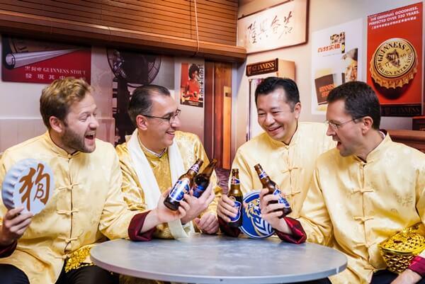 L-R: Jiri Rakosnik (Marketing Director), Hans Essaadi (Managing Director), Andrew Woon (Sales Director) & Szilard Voros (Finance Director)