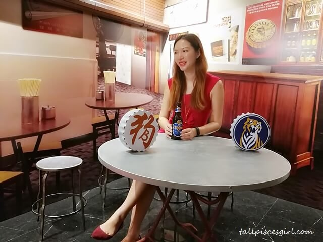 Tiger Beer blogger, Charmaine Pua