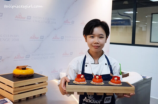 Silver Winner for Anchor Food Professionals Pastry & Culinary Challenge 2018 Best Cake (Hotel Channel) - Nyon Pei Shan from Intercontinental Kuala Lumpur