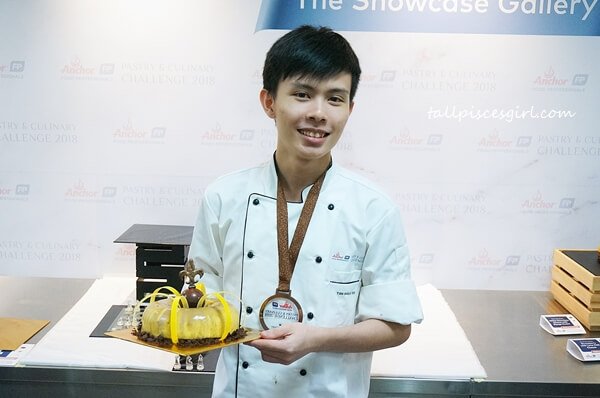 Bronze Winner for Anchor Food Professionals Pastry & Culinary Challenge 2018 Best Cake (Hotel Channel) - Tan Shong Yee from Double Tree by Hilton Kuala Lumpur
