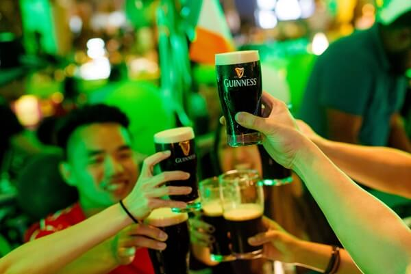 GUINNESS is available for a special price throughout all St Patrick's events