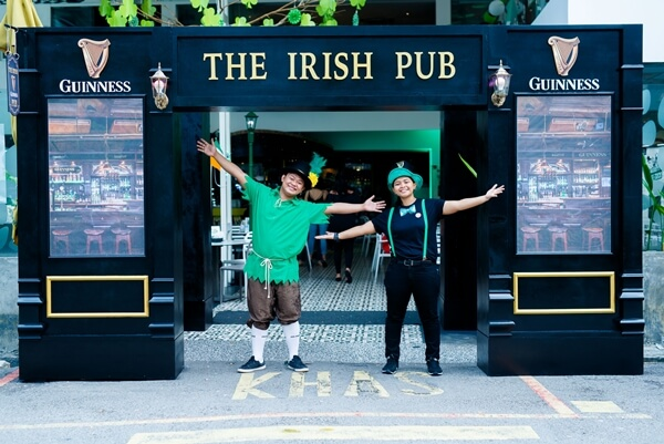 GUINNESS is transforming bars across the country into 'Irish Pubs' this March