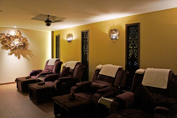 HealthLand Foot Massage Area
