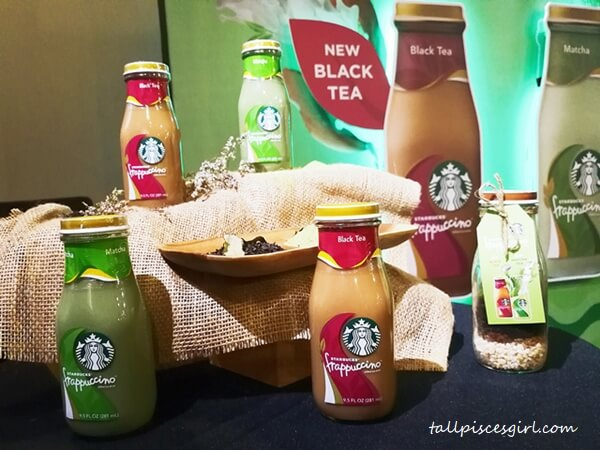 Starbucks Malaysia Tea-based Bottled Frappuccino