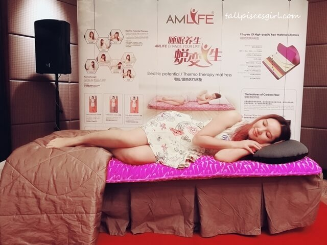 Charmaine X AmLife World Sleep Day 2018