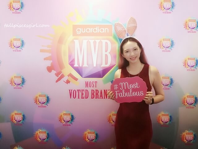 Charmaine X Guardian Most Voted Brands Award
