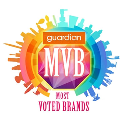 Guardian Most Voted Brands Award