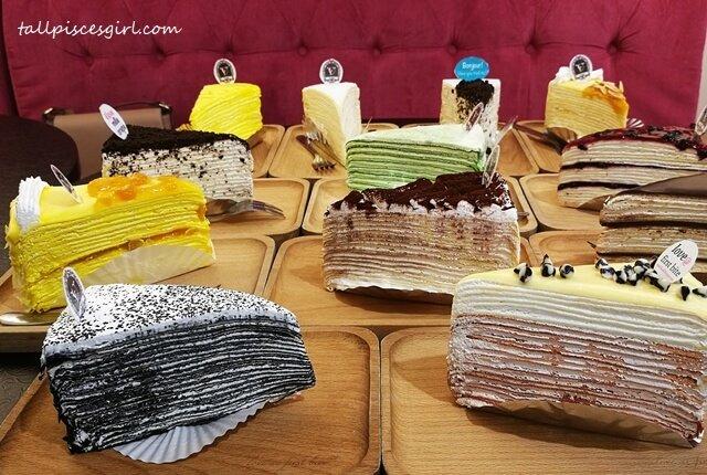 Vanilla Mille Crepe Cafe @ Paradigm Mall, PJ