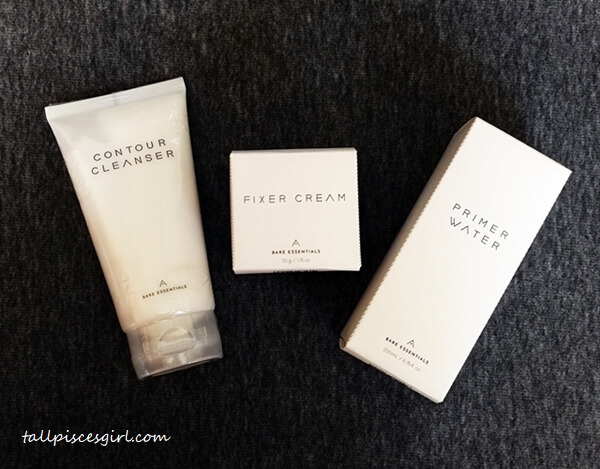 Althea Bare Essentials in their packaging
