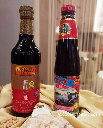 Lee Kum Kee Oyster Sauce and Soy Sauce