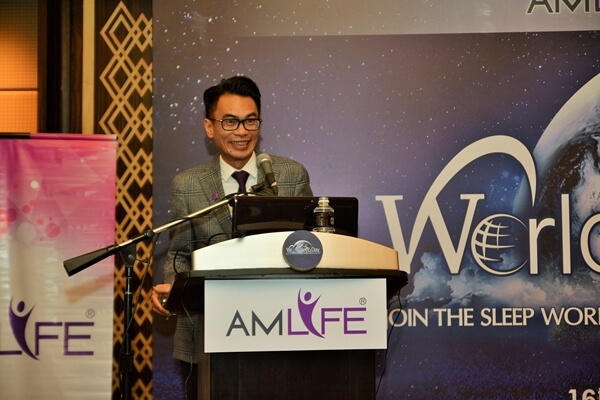 Mr. Lew Mun Yee, President and Founder of Amlife