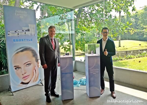 Dr Christian Rimpler, Managing Director of Rimpler Cosmetics and Mr. Samuel Cheang, Marketing Director of Cheerful Marketing Sdn Bhd