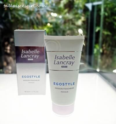 Isabelle Lancray Egostyle Antipollution Mission Fraîcheur Masque