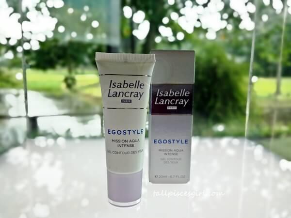 Isabelle Lancray Egostyle Antipollution Mission Aqua Intense Eye Contour Gel (Gel Contour Des Yeux)