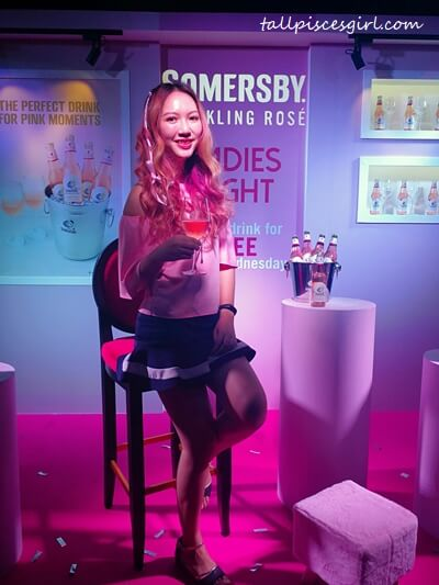 Charmaine X Somersby Sparkling Rose