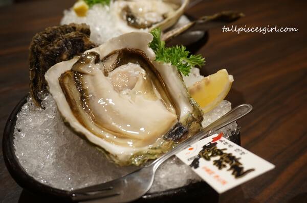 Hokkaido Iwagaki Oyster @ Ishin Japanese Dining