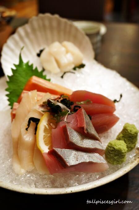 Sashimi Moriawase (Price: RM 80)