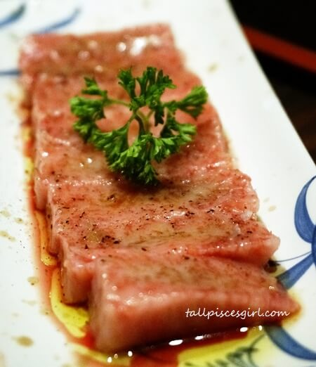 Ishin Japanese Dining House Specialty - Wagyu Stone Grill