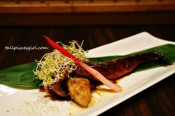Duck Liver with Unagi (Price: RM 125)