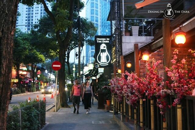 Dining in the Dark - Kuala Lumpur