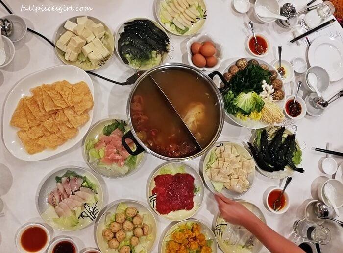 Hot Pot @ Dynasty Restaurant, Renaissance KL Hotel