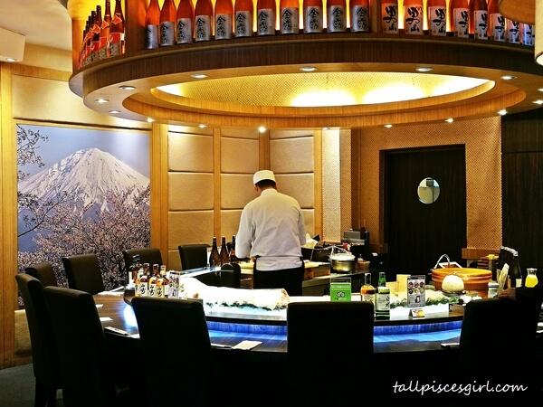 Sushi Counter @ Ishin Japanese Dining, Old Klang Road