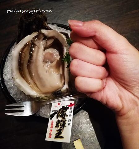 Hokkaido Iwagaki Oyster as big as my fist!