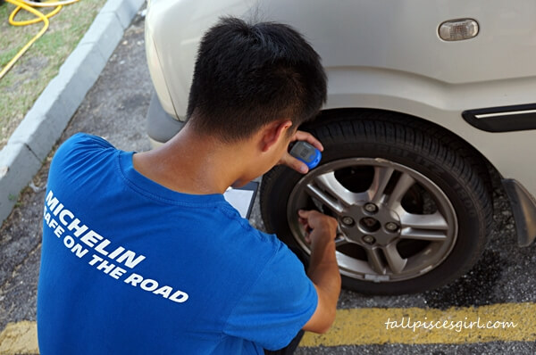 MICHELIN Safe On The Road Free Tyre Check