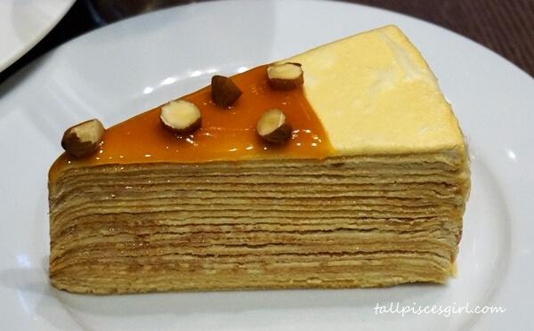 Dessert: Mille Crepe Cake