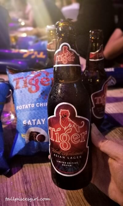Tiger Beer Limited Edition Design and Tiger Satay Potato Chips for World Cup 2018