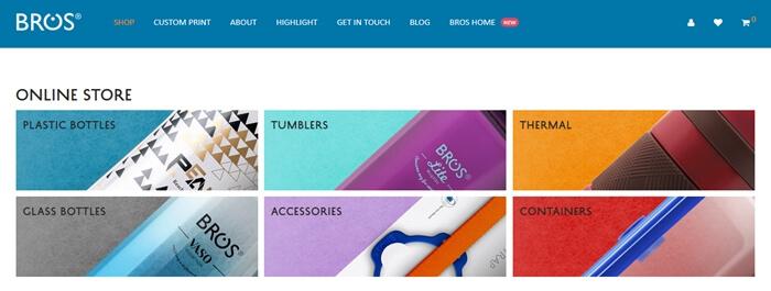 BROS Online Store