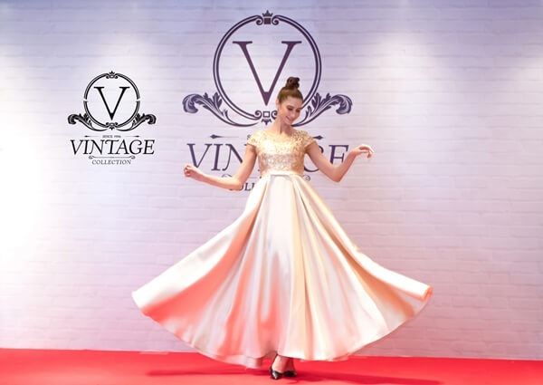 Beautiful and elegant evening gowns for sale and rent at Vintage Collection International