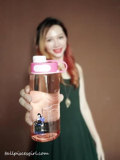 Spread the Joy Water Bottle from BROS Wego Series