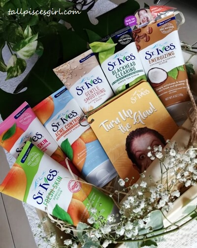 St. Ives Face Scrubs