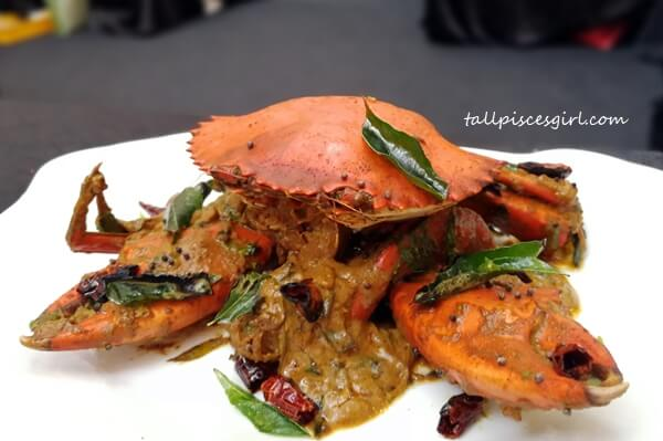 Amma's Traditional Crab by Chef Sivaraja Suppaiya, Aliyaa