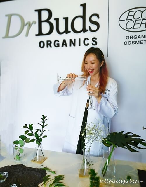 Dr Charmaine Pua coming up with her own organic formula