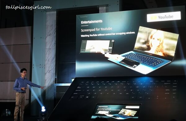 ASUS ZenBook Pro 15 with Revolutionary ScreenPad 1