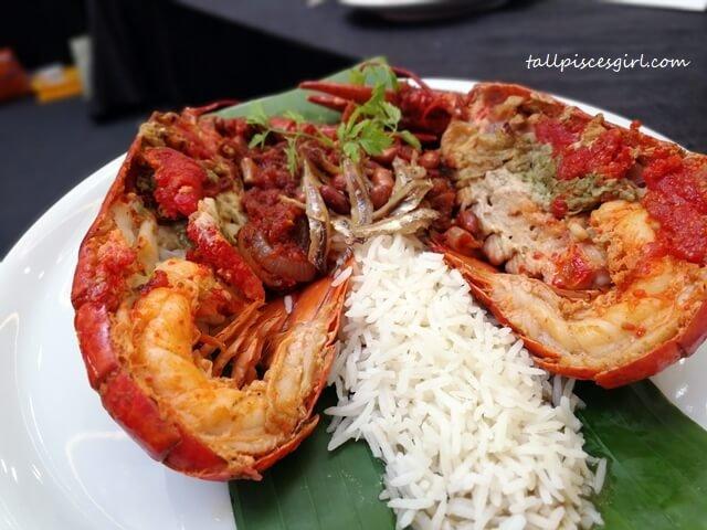 Nasi Lemak Lobster by Chef Muhamad Muhader, High Line