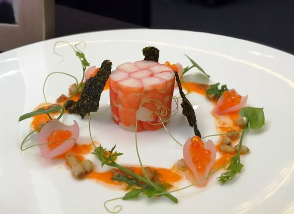 Tiger Prawns Torchon by Chef Phillip Murray Dominic, 20X
