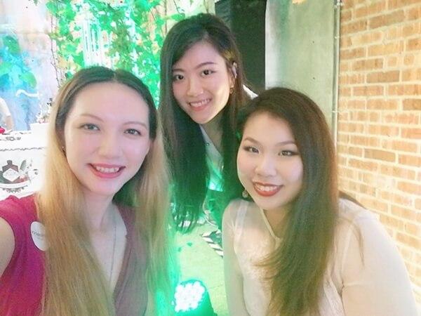 Charmaine Pua, Sycookies and Cindy Tong