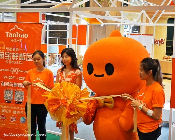 Lilian Wu, Tmall World South East Asia Head of Marketing, Malaysia Officiated Taobao Home Pop Up Store
