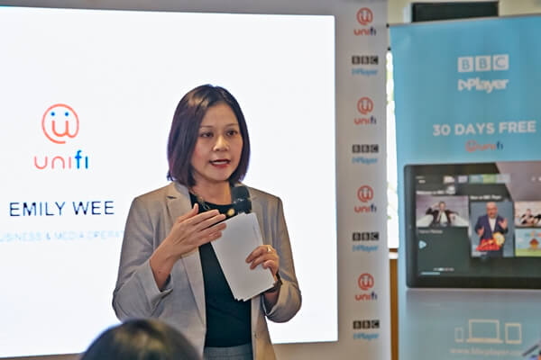 Emily Wee, Vice President of unifi Content (Product)