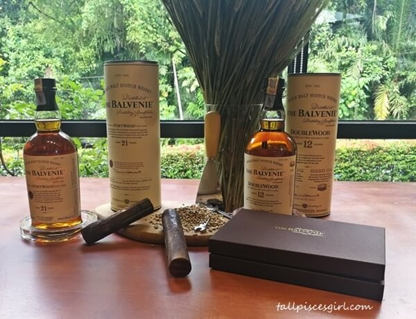 The Balvenie PortWood - 21 Years & The Balvenie DoubleWood - 12 Years
